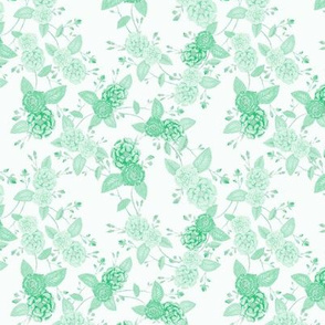 Orient Roses Chinoserie Palest Green