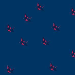 small but not few origami cranes var 7