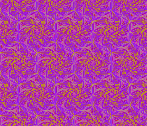 Whirligig Pattern Fabric Purple fabric by cveti on Spoonflower - custom fabric