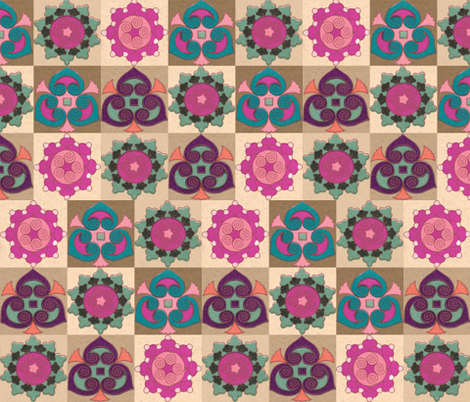 japonaise 51 fabric by hypersphere on Spoonflower - custom fabric