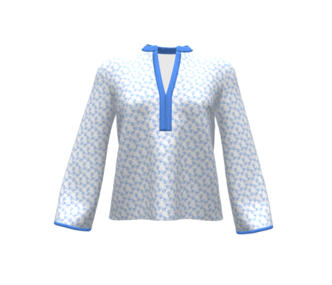 Tiny White Polka Dot on Royal Blue || Summer Bicycle Bike _ Miss Chiff Designs