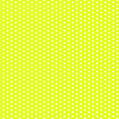 Lime Green Yellow Tiny Polka Dot    Summer spots chartreuse _ Miss Chiff Designs fabric by misschiffdesigns on Spoonflower - custom fabric