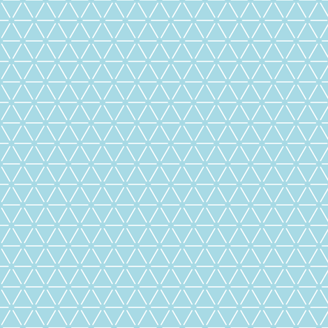 Geometric Blue fabric by whyaretherethings on Spoonflower - custom fabric