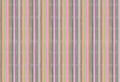 Handpainted Stripes Oil Painting