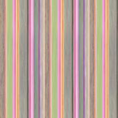 Handpainted Stripes Oil Painting On Wyandotte By Nancy Lee