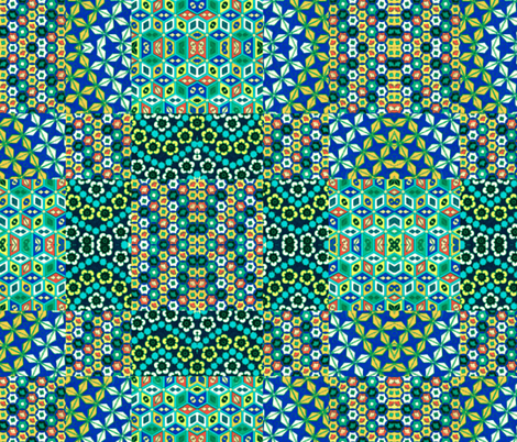 japonaise 53 fabric by hypersphere on Spoonflower - custom fabric