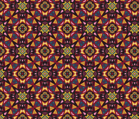 Sonia Tessellation fabric by amber_coppings_designs on Spoonflower - custom fabric