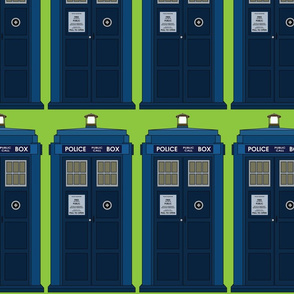 Green Doctor Police Box