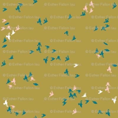 Sheba Flock (chartreuse)