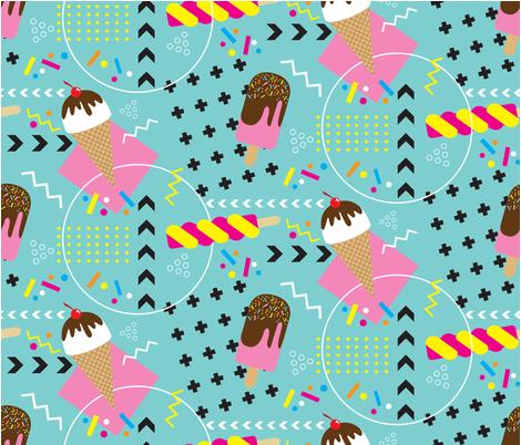 Ice Cream Crush fabric by fastford on Spoonflower - custom fabric