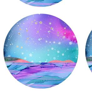 Aquarius constellation - cut & sew
