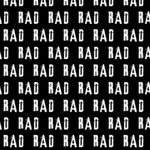 RAD // small scale (black)