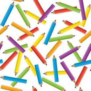 Pencils - Scatter
