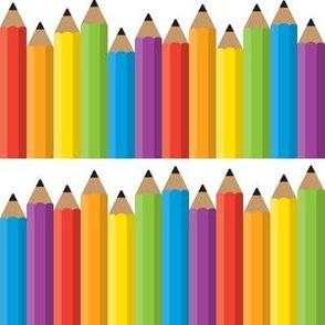 Pencils - Rows