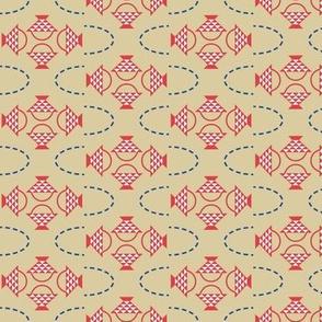 Patriotic Quilting Basket Pattern