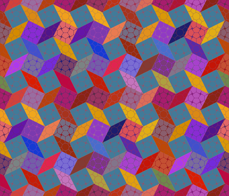 Caravan - warm fabric by ormolu on Spoonflower - custom fabric