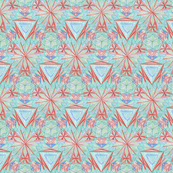 Three Girls Kaleidoscope Pattern 2
