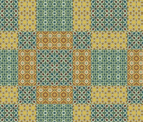 arabesque 46 fabric by hypersphere on Spoonflower - custom fabric