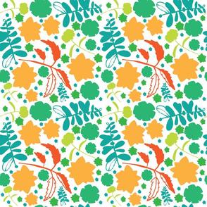 green_blue_orange_floral_repeat_pattern