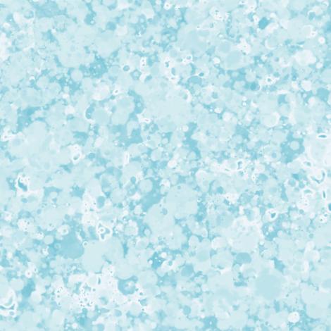 Light Blue Tones White Splatter Pattern