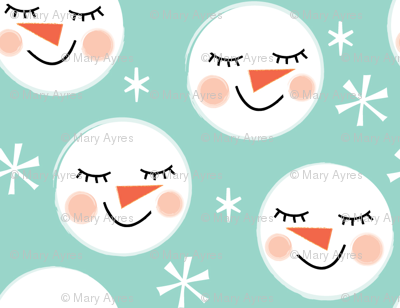 snowman-faces-on-teal