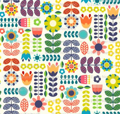 Swedish Folk Art Colorway1