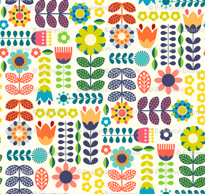 Swedish Folk Art Colorway1