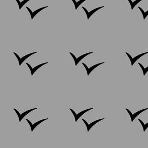 Birds on Gray