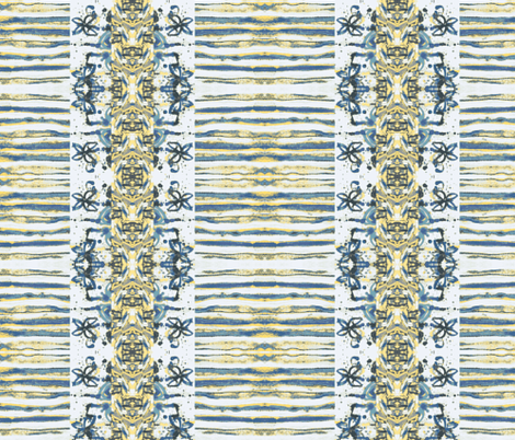 Bohemian - very peaceful mindset fabric by palusalu on Spoonflower - custom fabric