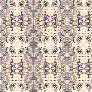 Bohemian Puce  Abstract Pattern