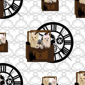 Yorkie - Fancy Steampunk Clockers