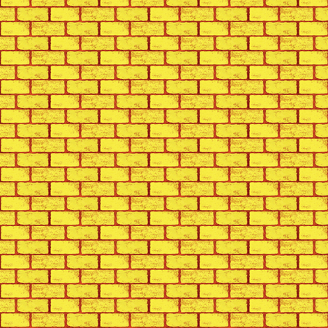 Pave the way -Yellow Brick  fabric by franbail on Spoonflower - custom fabric