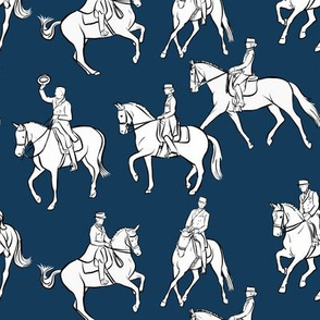 Dressage on Navy