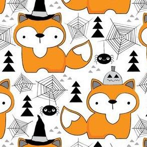 halloween foxes