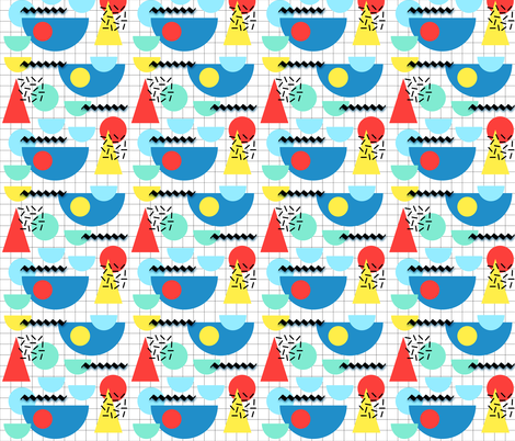 Party Memphis Style fabric by twix on Spoonflower - custom fabric