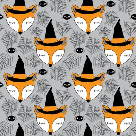 Rhalloween-sleeping-foxes-on-grey_shop_preview