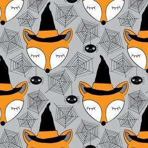 halloween-sleeping-foxes-on-grey