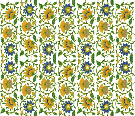 indo-persian 93 fabric by hypersphere on Spoonflower - custom fabric