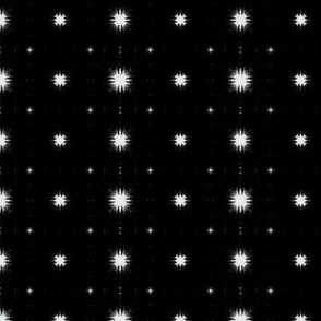 White on Black Dots