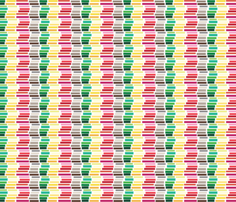 Stacked Color Bars day fabric by colour_angel_by_kv on Spoonflower - custom fabric