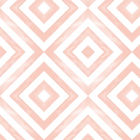watercolor diamonds  fabric by littlearrowdesign on Spoonflower - custom fabric