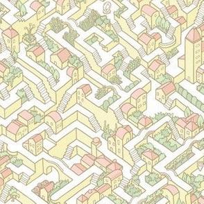 Last Dance Maze Yellow