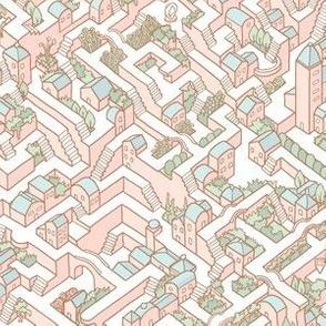 Last Dance Maze Pink SMALL