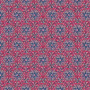 Star Diamond Pattern Fabric