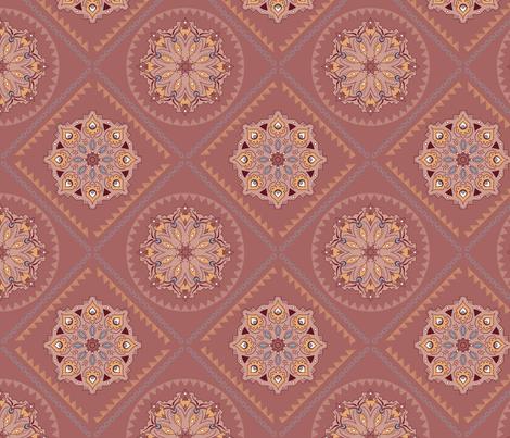 Bohemian_mandala fabric by effi_keijsper on Spoonflower - custom fabric