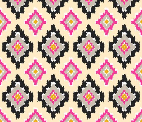 Boho Ikat  fabric by thewellingtonboot on Spoonflower - custom fabric