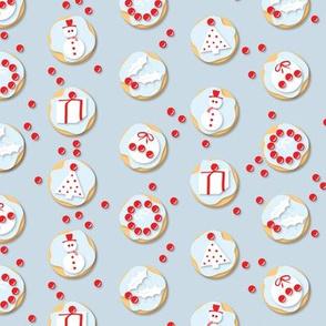 Christmas Cookies blue