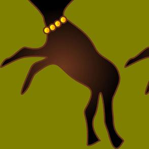 Reindeer play