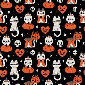 Halloween Kitties (Black)
