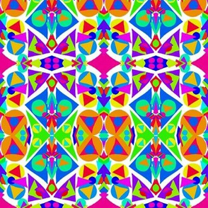 Bright Tropical Funtime Shapes